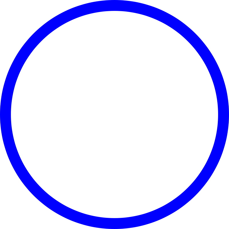 Blue Circle Transparent Background Gfx Pictures To Pin On